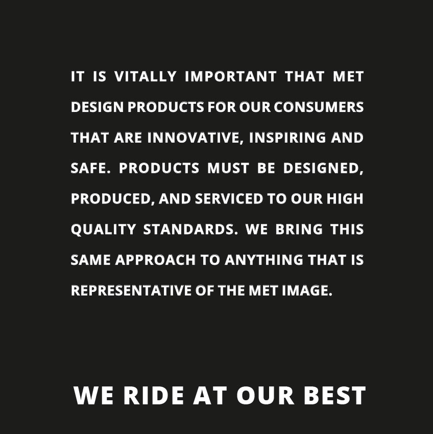 We ride our best