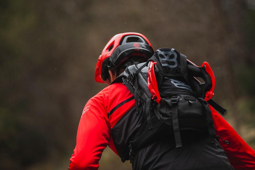 BLUEGRASS Golden Eyes Trail Helmet Liam Moynihan