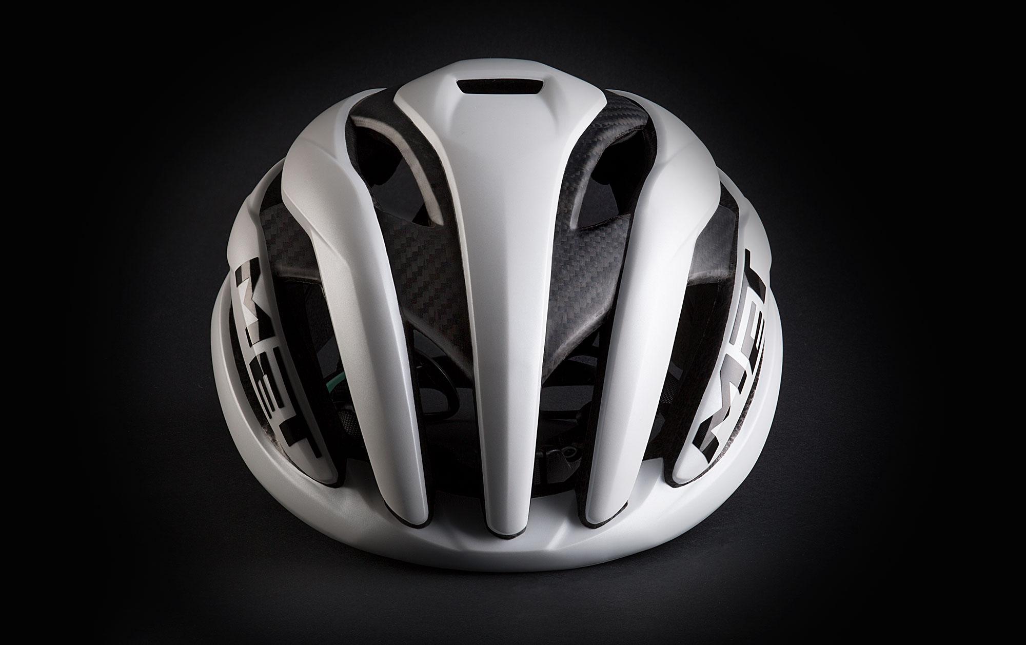 MET Trenta 3K Carbon Road, Aero, Cyclocross and Gravel Helmet contact head surface