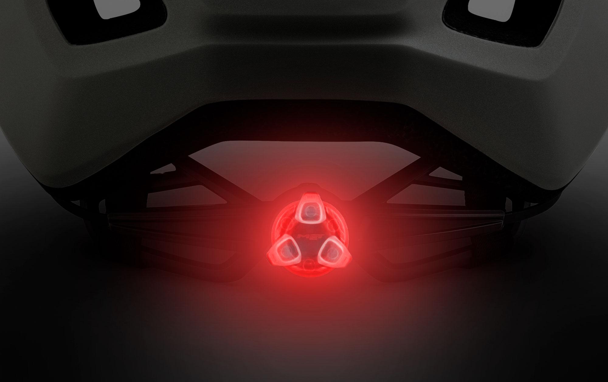 MET Allroad Gravel, Trekking, City, E-bike and Commuting Helmet Integrated Led Light