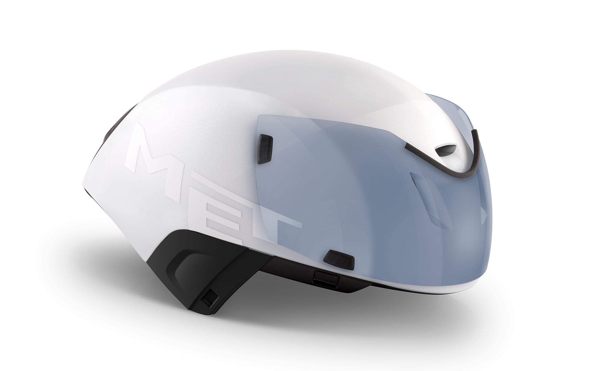 MET Codatronca Road and Aero Helmet Dual-Mag shield