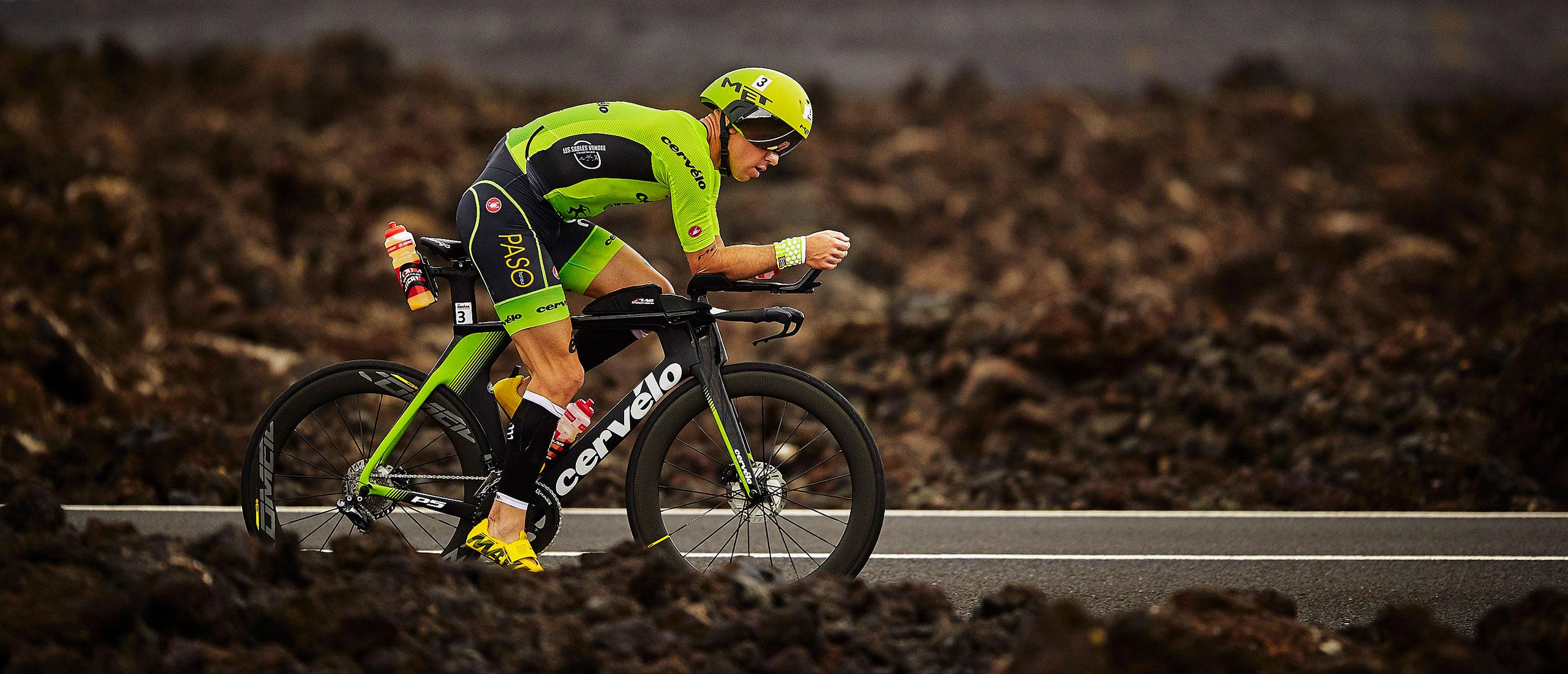 MET Codatronca Road and Aero Helmet Frederik Van Lierde Ironman Lanzarote