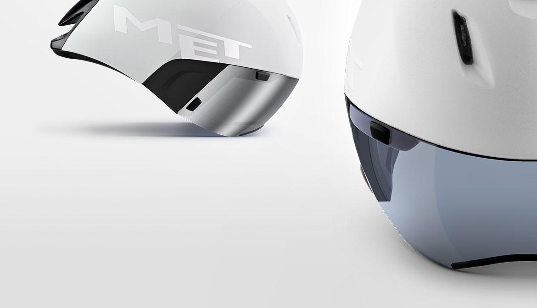 MET Dual-Mag shield for Codatronca Aero Helmet
