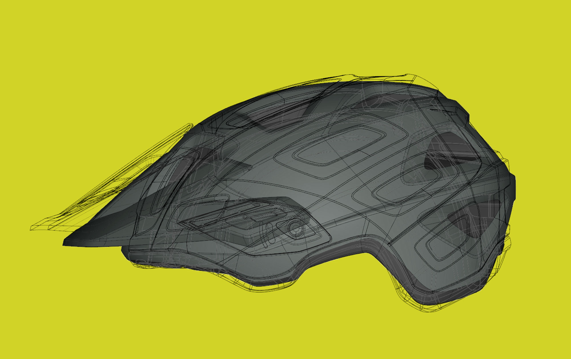 MET Echo Trail, Cross Country and E-MTB Helmet Extended Head Coverage