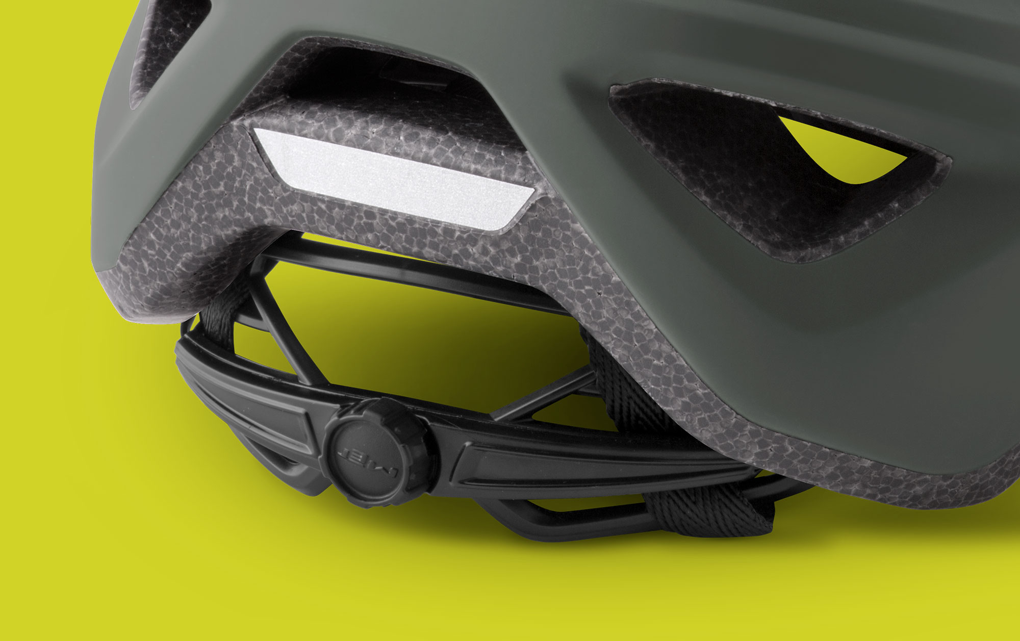 MET Echo Trail, Cross Country and E-MTB Helmet Retention System