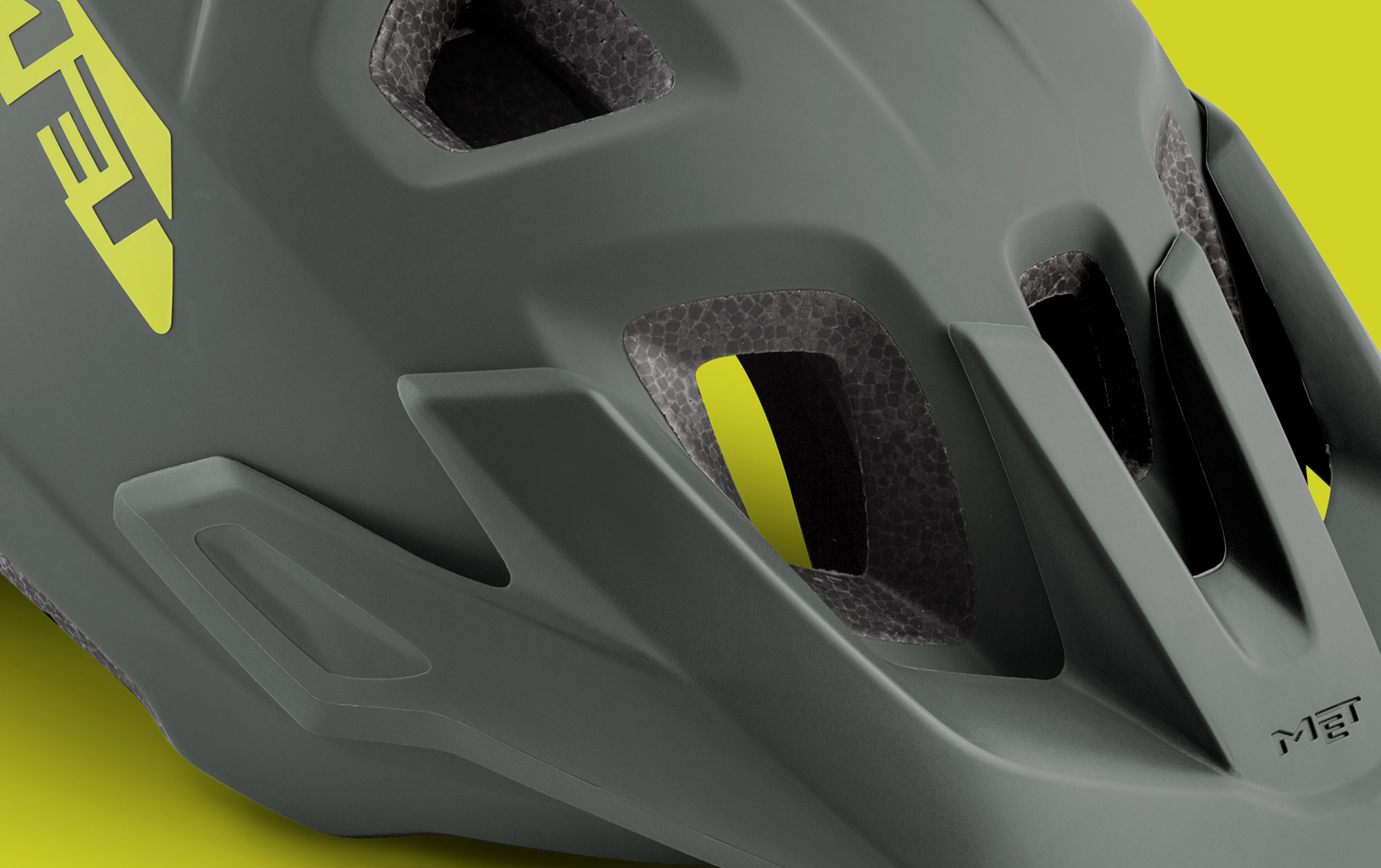 MET Echo Trail, Cross Country and E-MTB Helmet Snap-in Visor