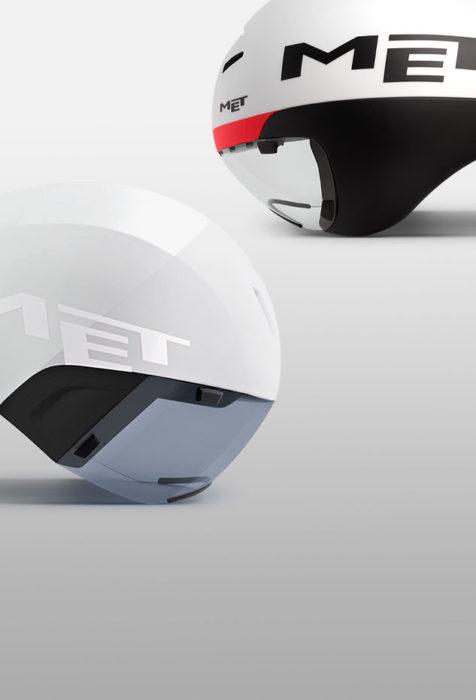 MET Helmets stories Drone Wide Body Helmet vs Codatronca Helmet made for Tri-aero