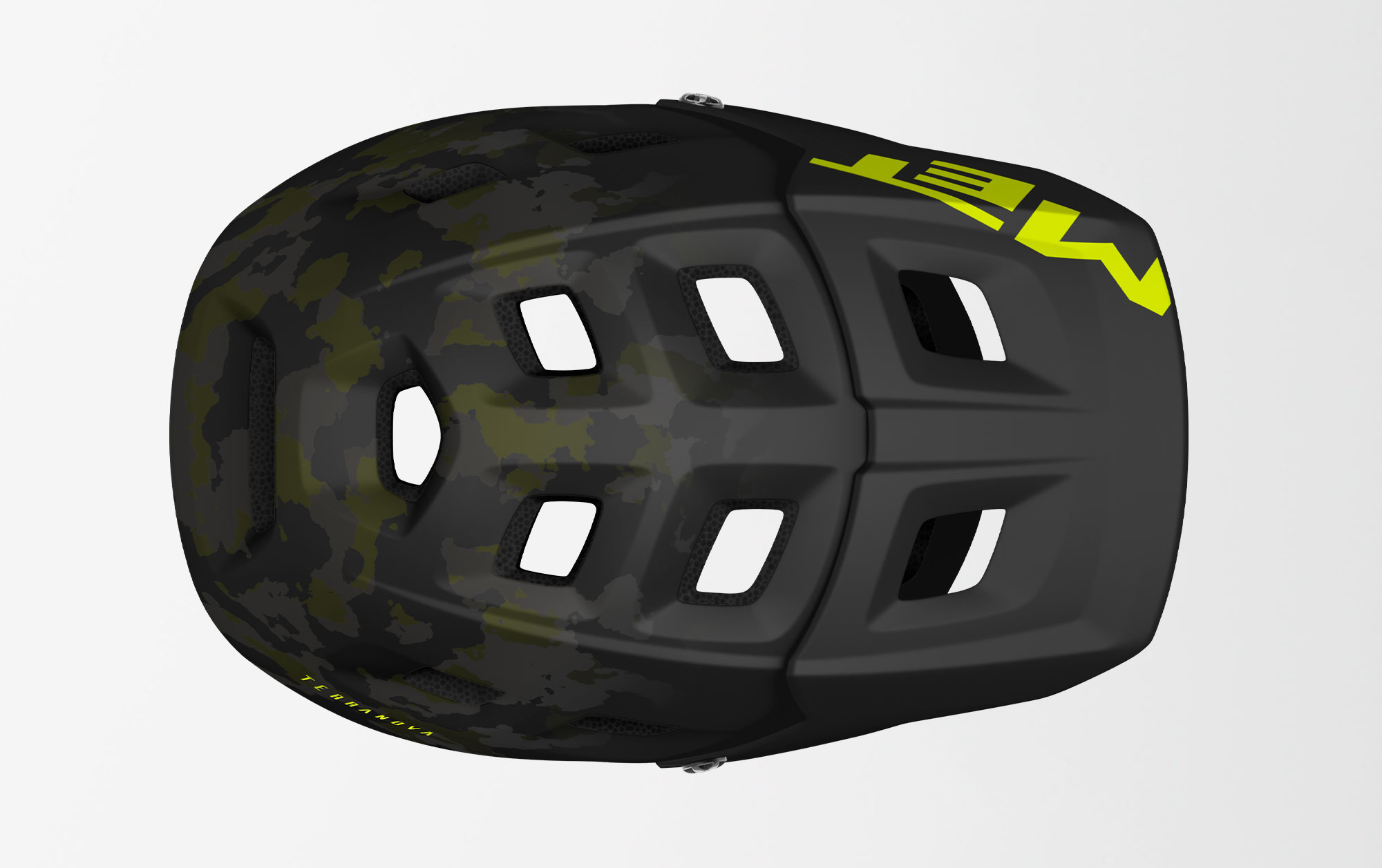 MET Terranova Mips Trail and E-MTB Helmet Ventilation
