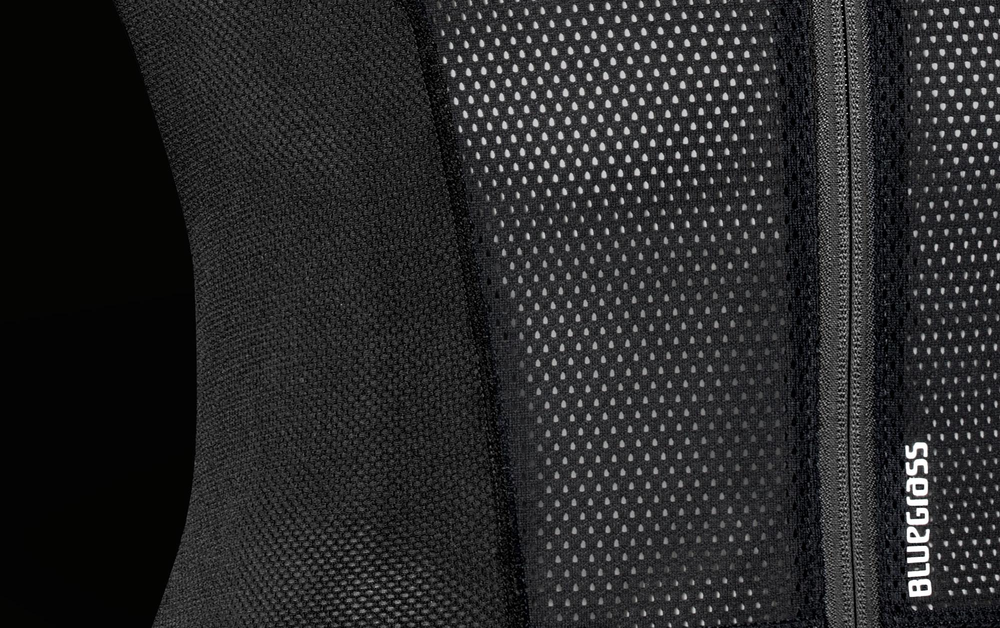 BLUEGRASS Armour Lite, Body Protection made for Mountain Bike, Enduro and E-Bike Open Mesh Fabric