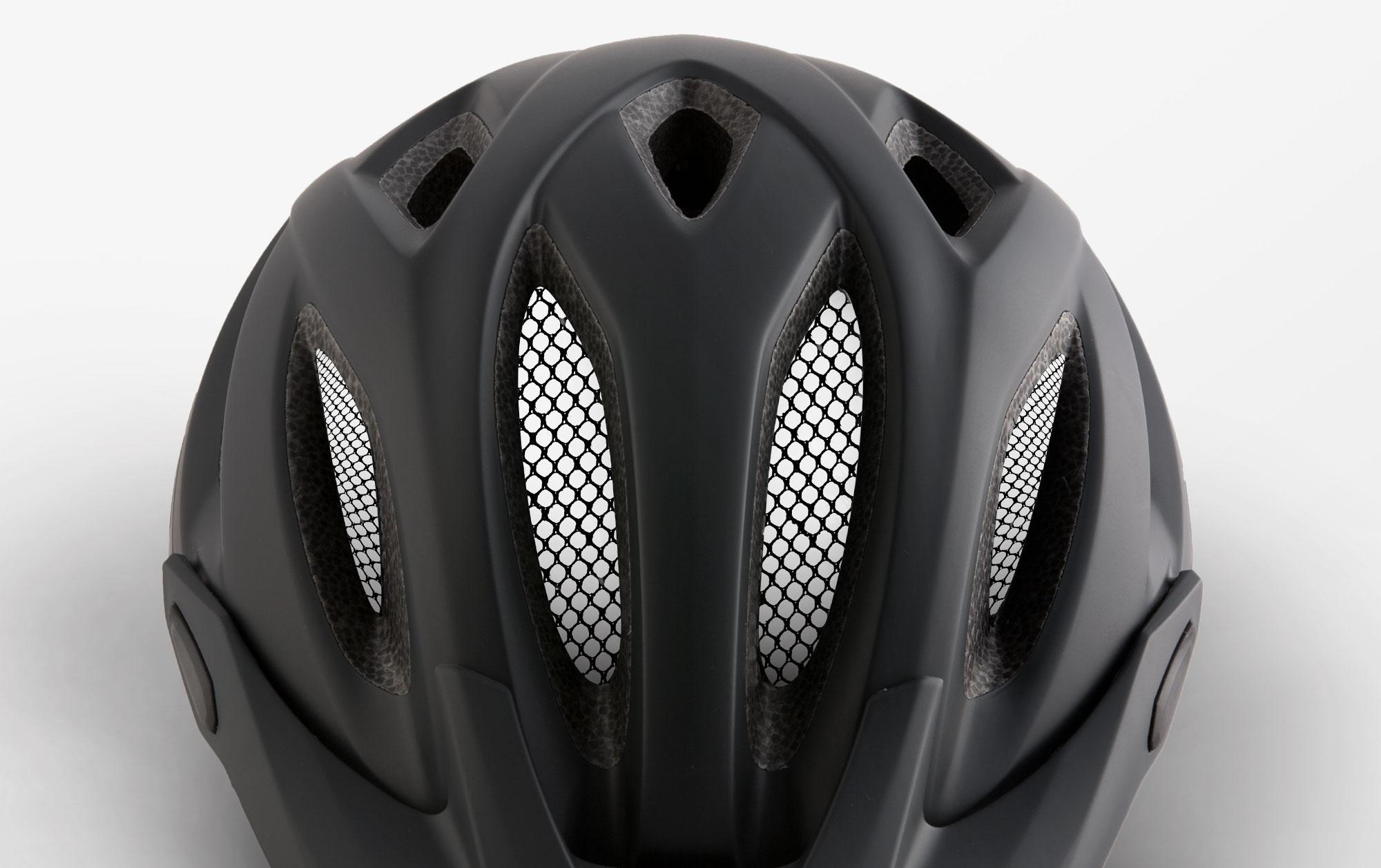 MET Crossover Trekking and City Helmet Anti-insect Net