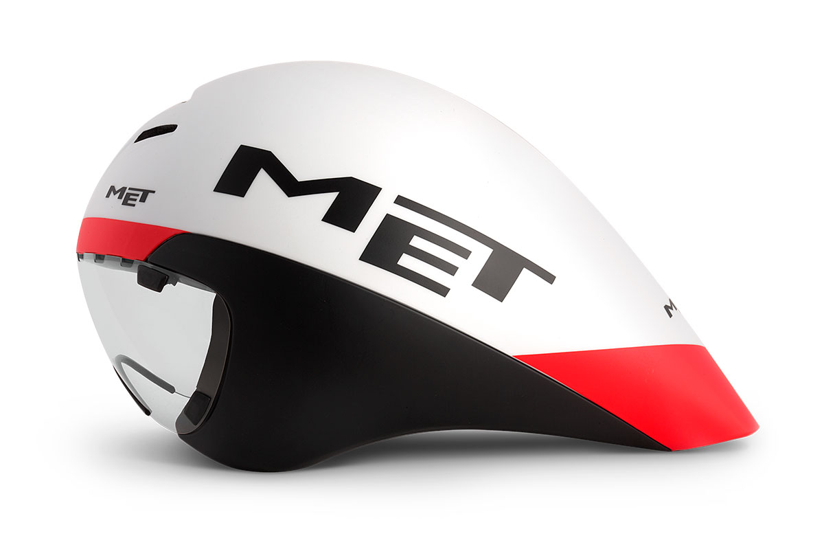 MET Drone Wide Body Road and Aero Helmet