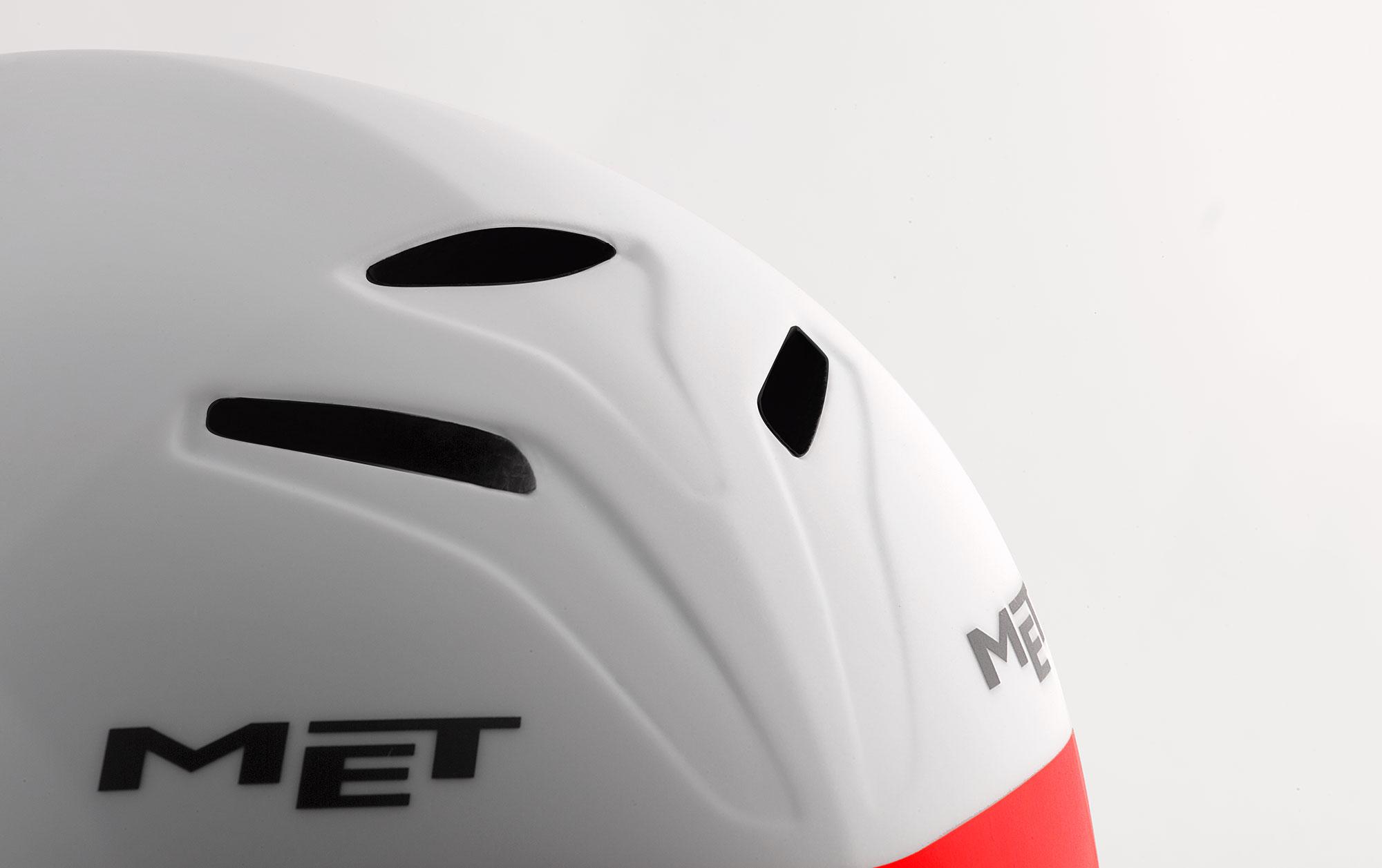 MET Drone Wide Body Road and Aero Helmet Low Drag Inlets