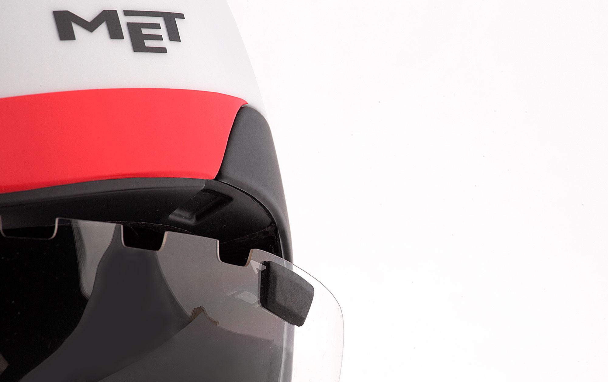 MET Drone Wide Body Road and Aero Helmet Mag-clip shield