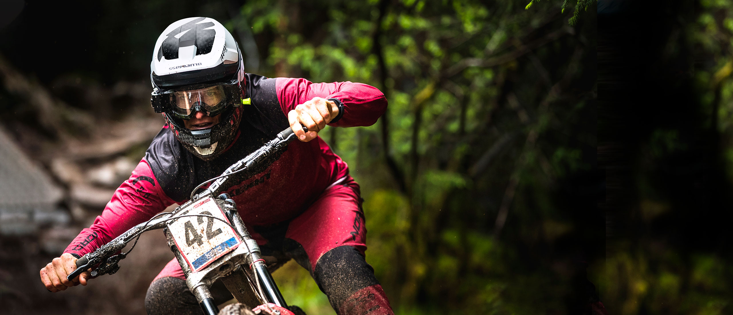 BLUEGRASS Legit Carbon Mips Downhill Helmet Sam Blenkinsop