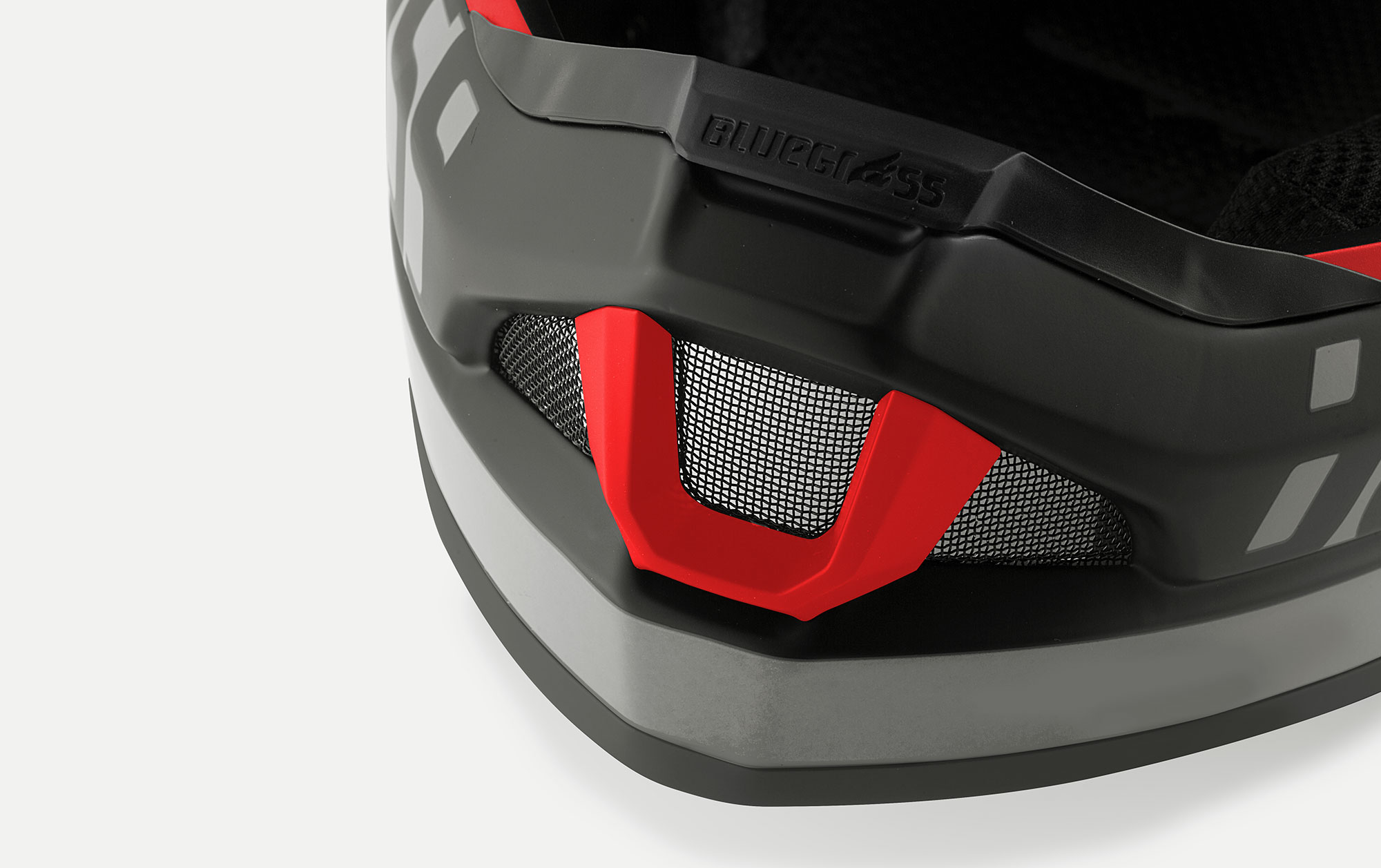 BLUEGRASS Legit Carbon Mips Downhill, BMX and Trail Helmet Breathable Chin Guard