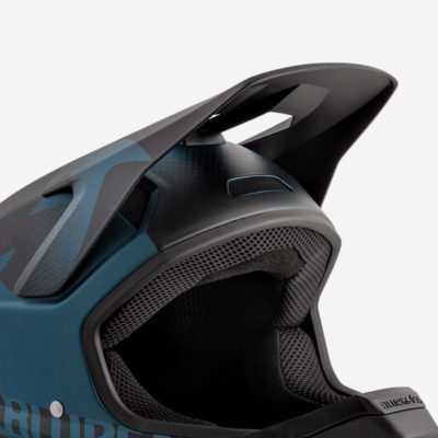 Petrol Blue Black Texture   Matt