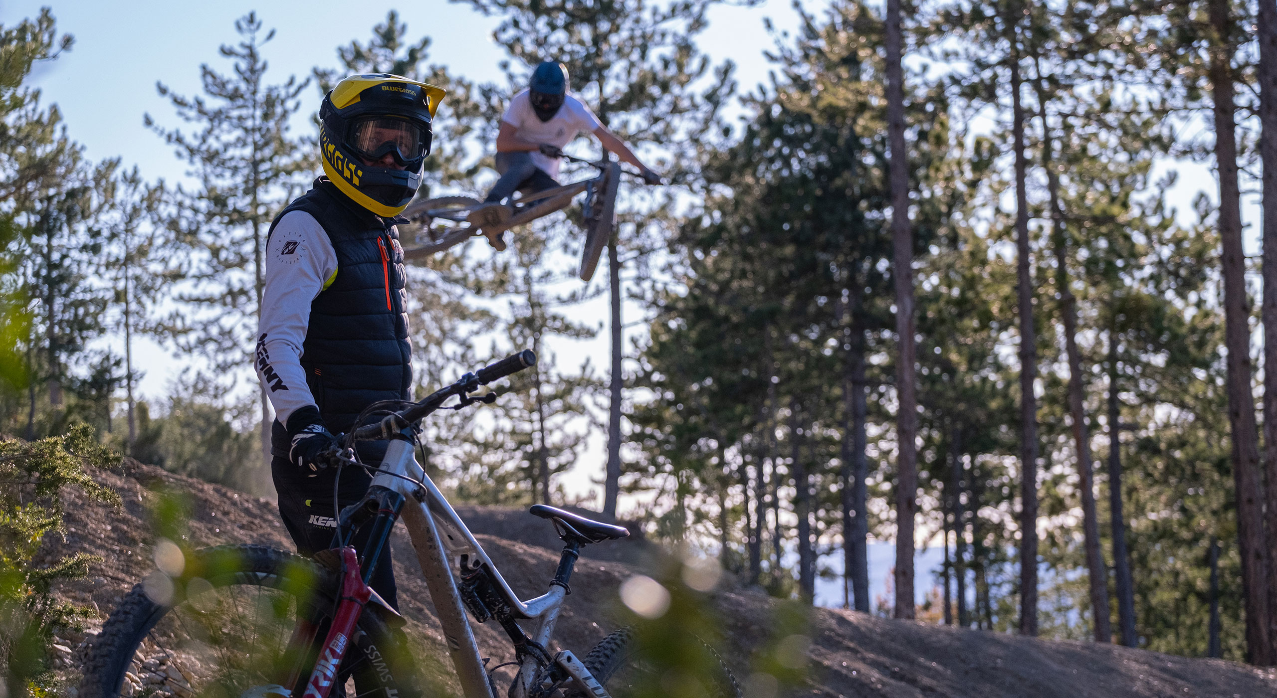 Bluegrass Stories EVO Bike Park located in the South of the French Alps