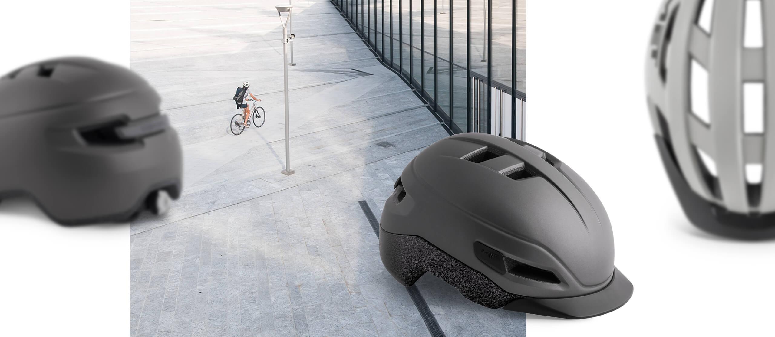 MET Helmets specialisti nei caschi da e-bike e commuting