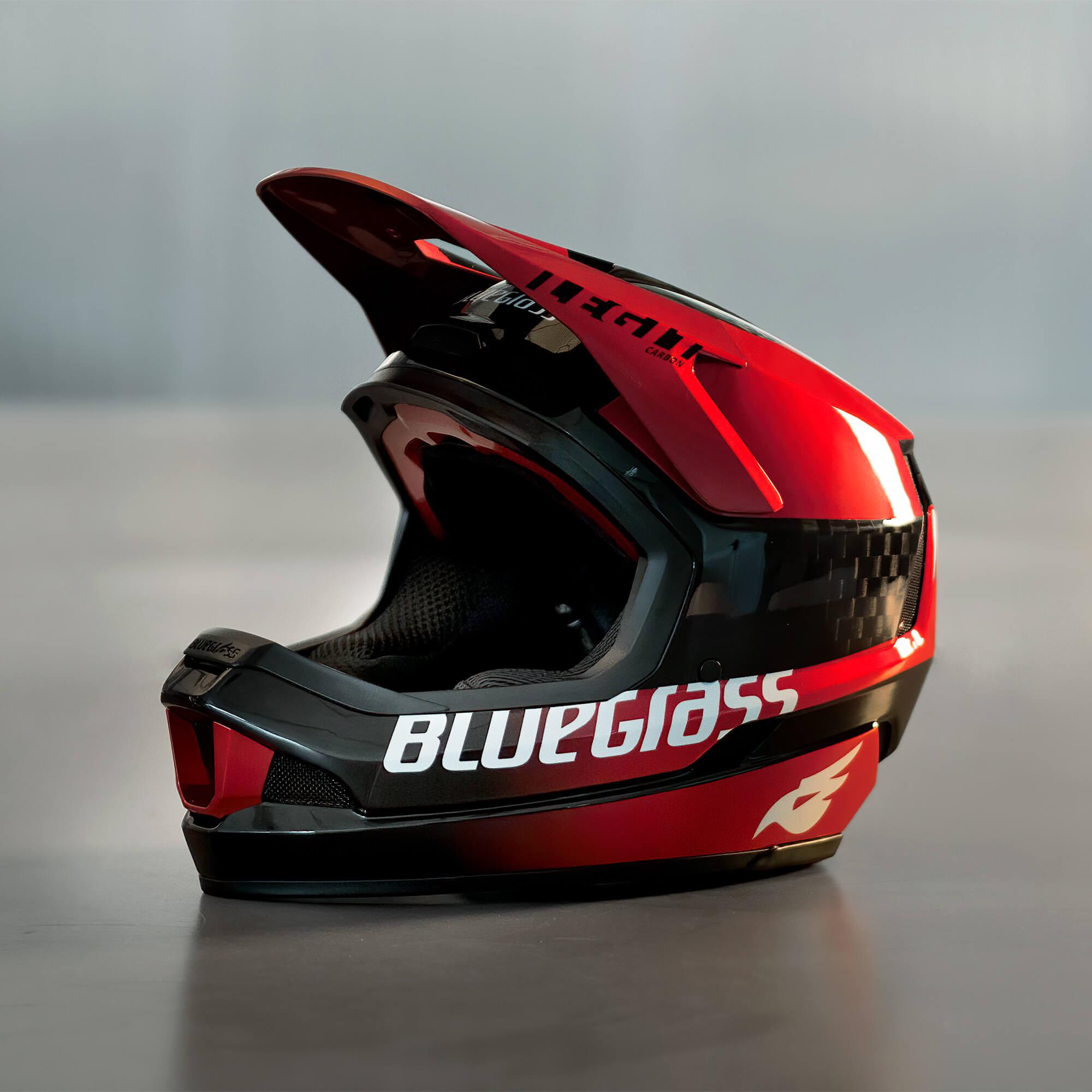 Nina Hoffmann Bluegrass Legit Carbon Downhill Helmet
