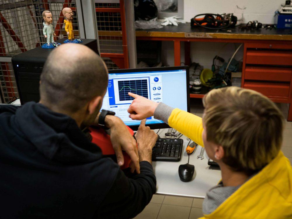 Nina Hoffmann visits Bluegrass Headquarter and Bluegrass Testing Laboratory