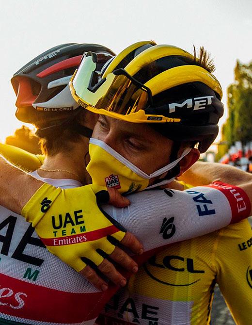 MET Helmets Tour de France Win Tadej Pogacar