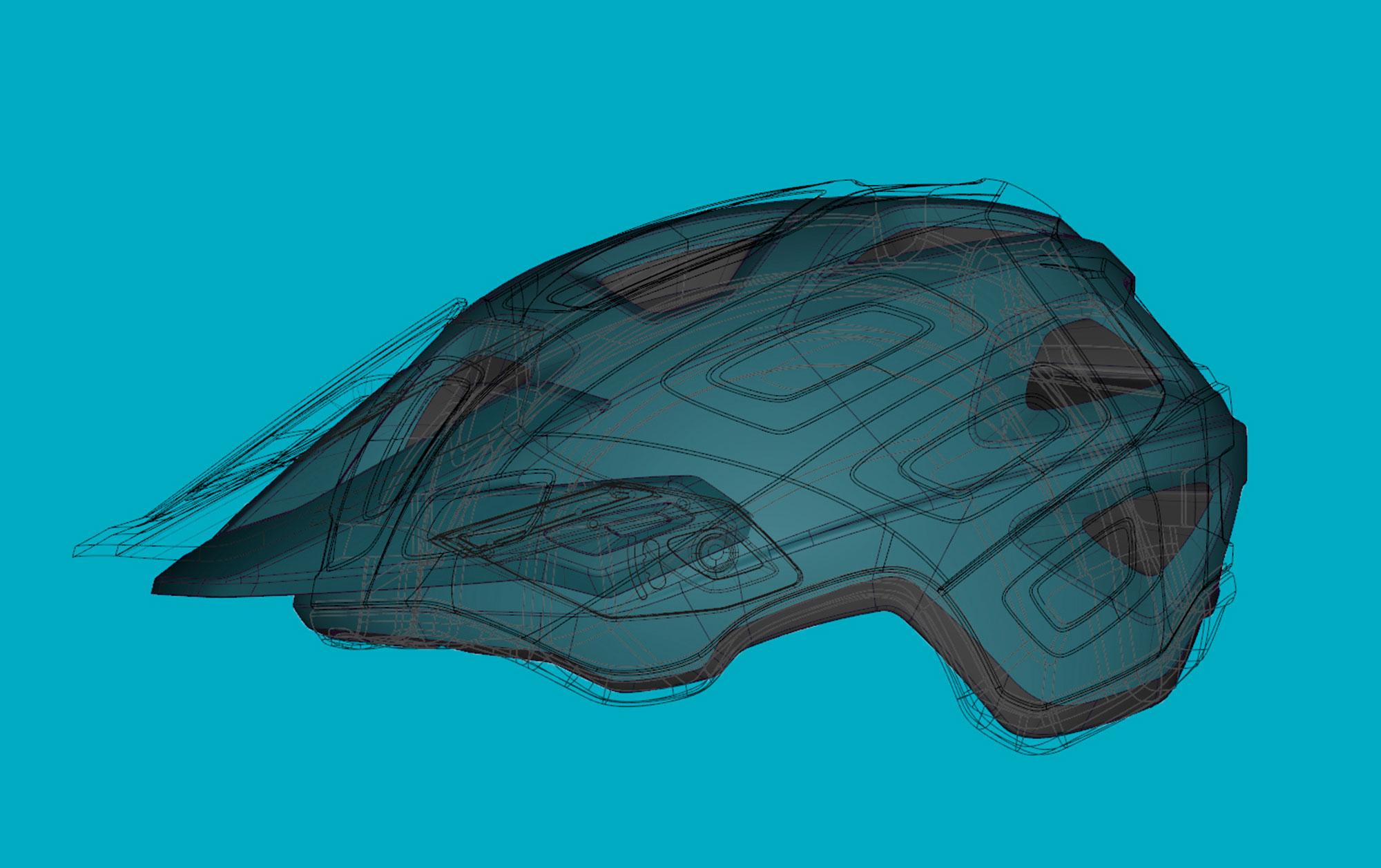 MET Echo Mips Trail, Cross Country and E-MTB Helmet Head Coverage