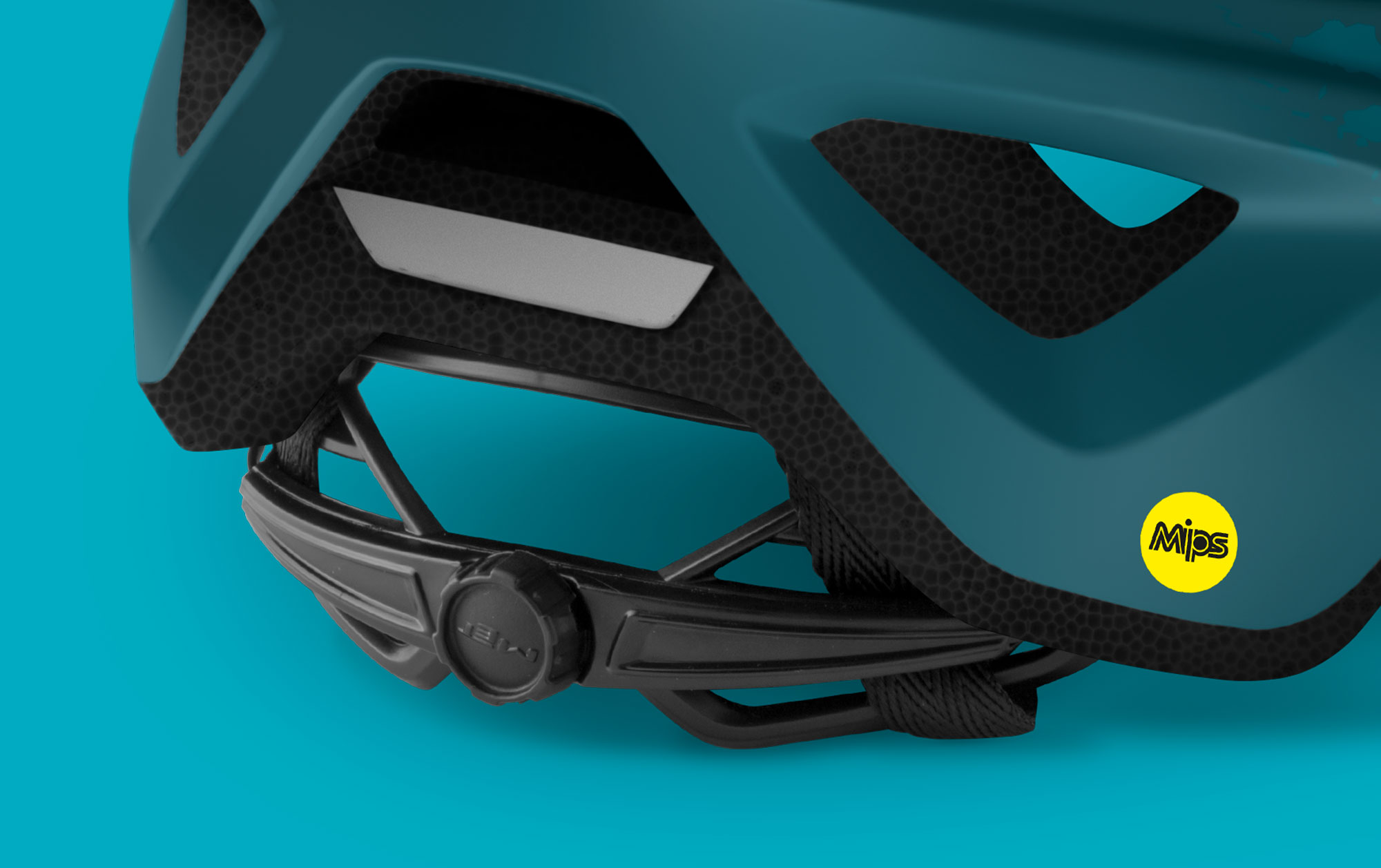 MET Echo Mips Trail, Cross Country and E-MTB Helmet Retention System