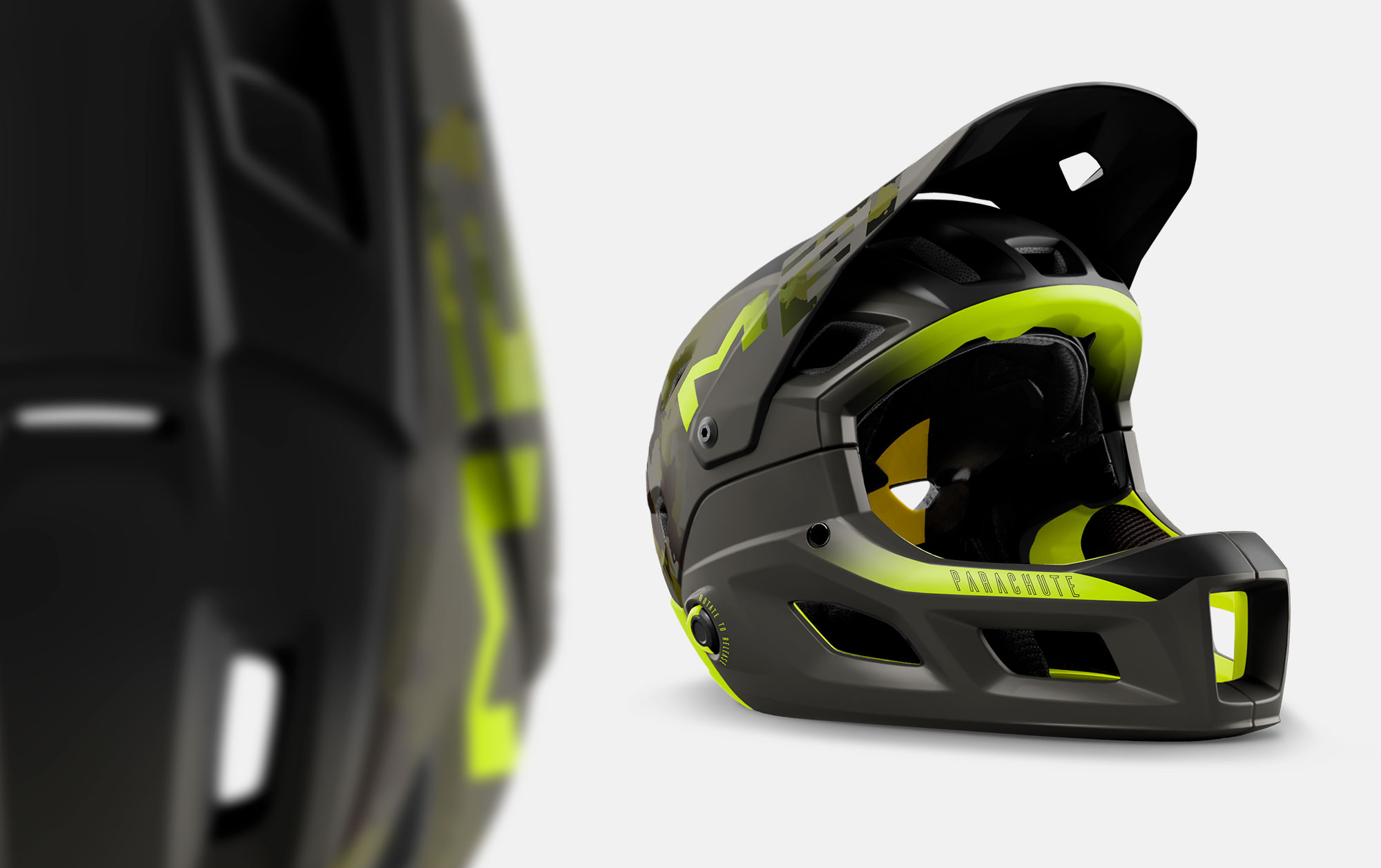 MET Parachute MCR mips Enduro, Trail and E-MTB Helmet Ventilation
