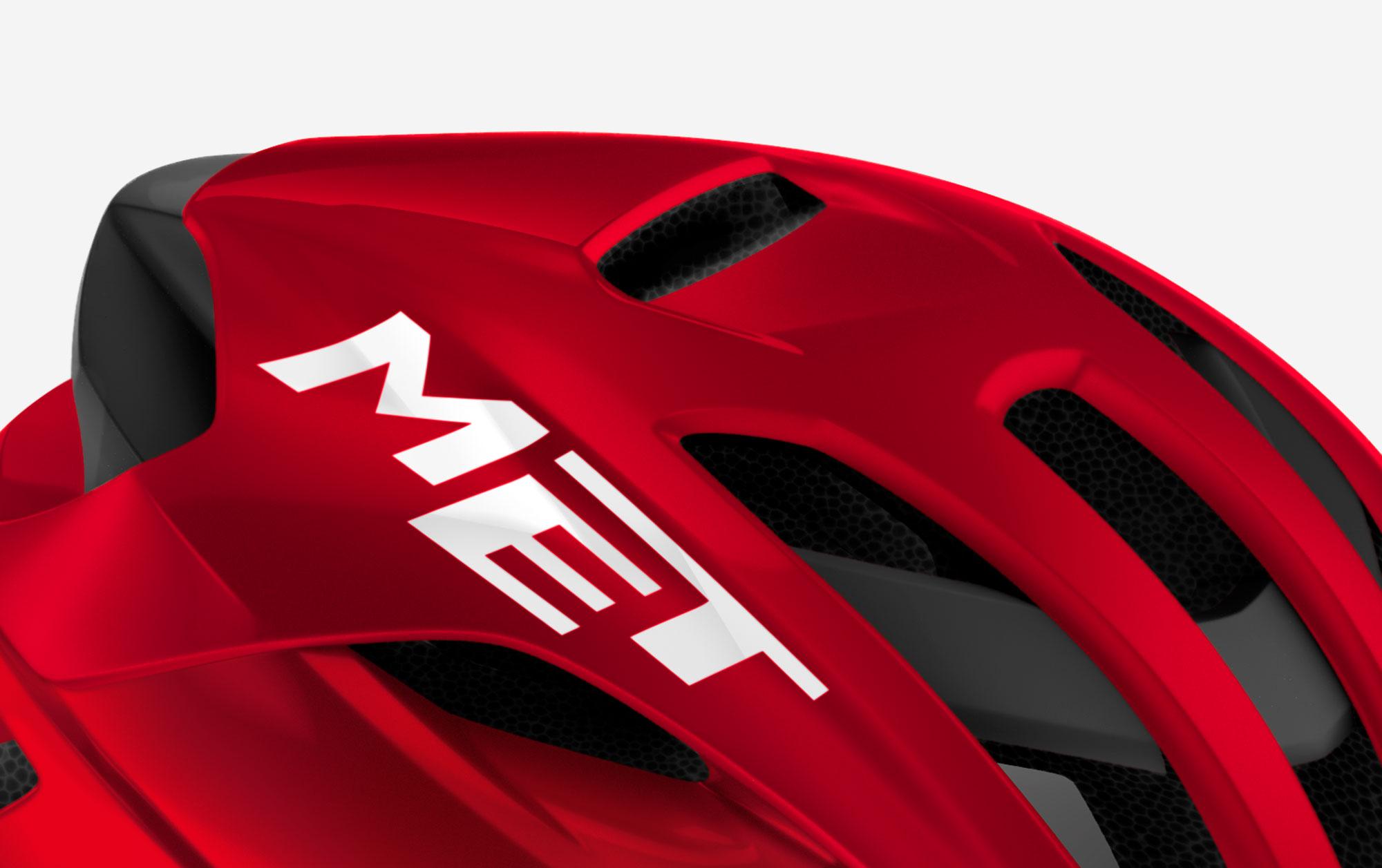 MET Rivale Mips Road And Cyclocross Cycling Helmet Naca Vent