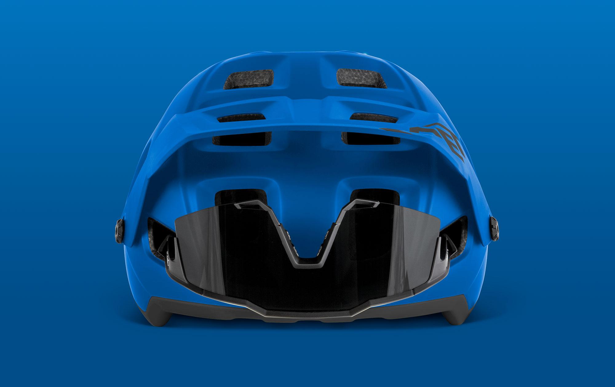 MET Terranova Trail and E-MTB Helmet Adjustable Visor