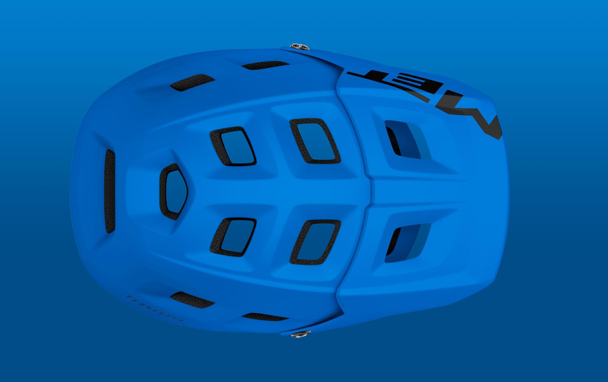 MET Terranova Trail and E-MTB Helmet Ventilation