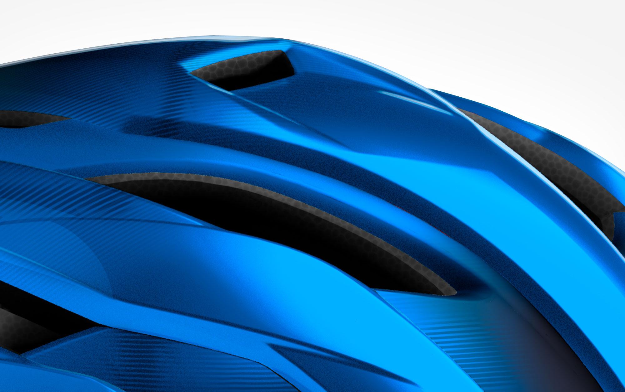 MET Trenta Road, Aero, Cyclocross and Gravel Helmet naca vent