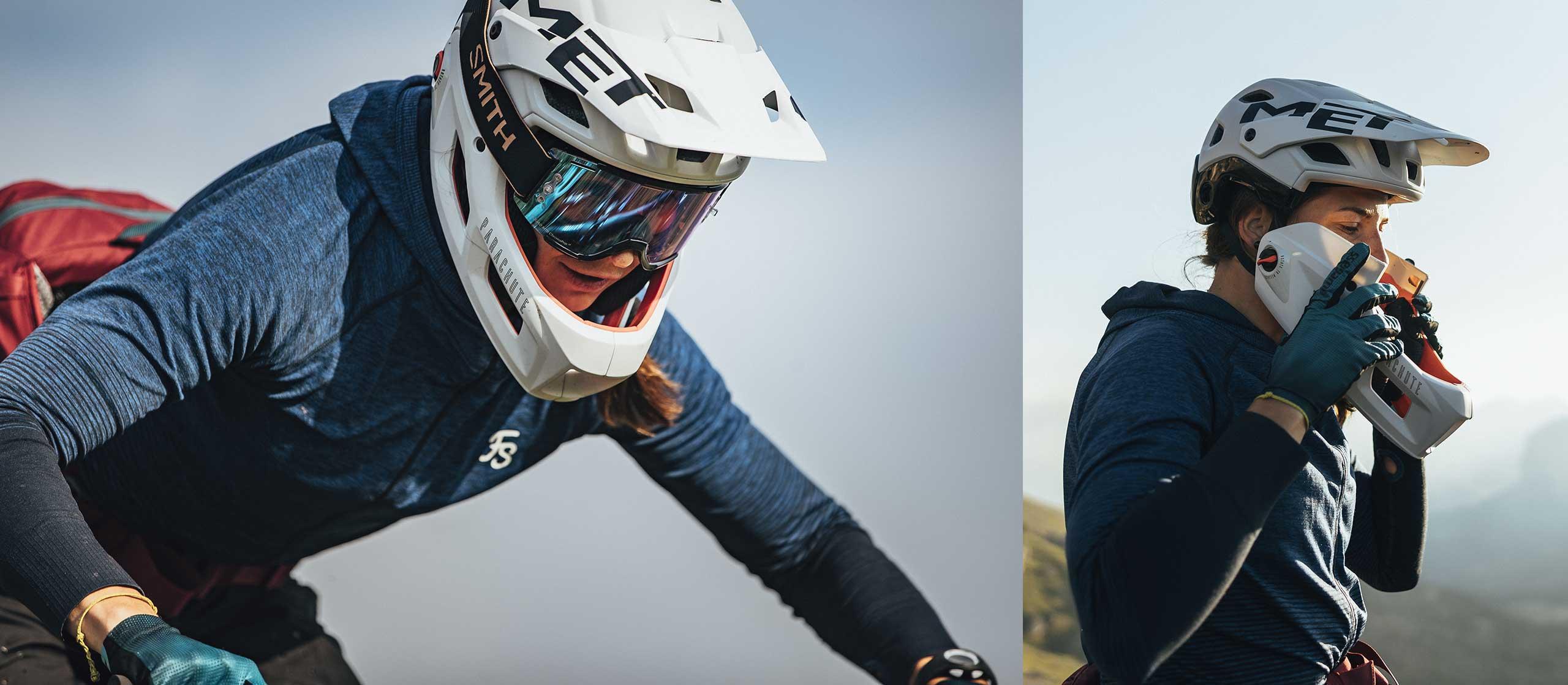 MET Parachute MCR mips Enduro, Trail and E-MTB Convertible Helmet