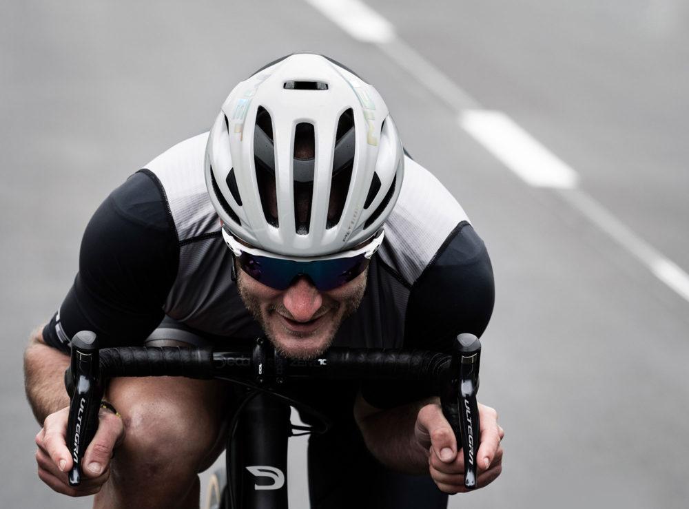 MET Rivale Mips Road Cycling Helmet with Steve Cummings