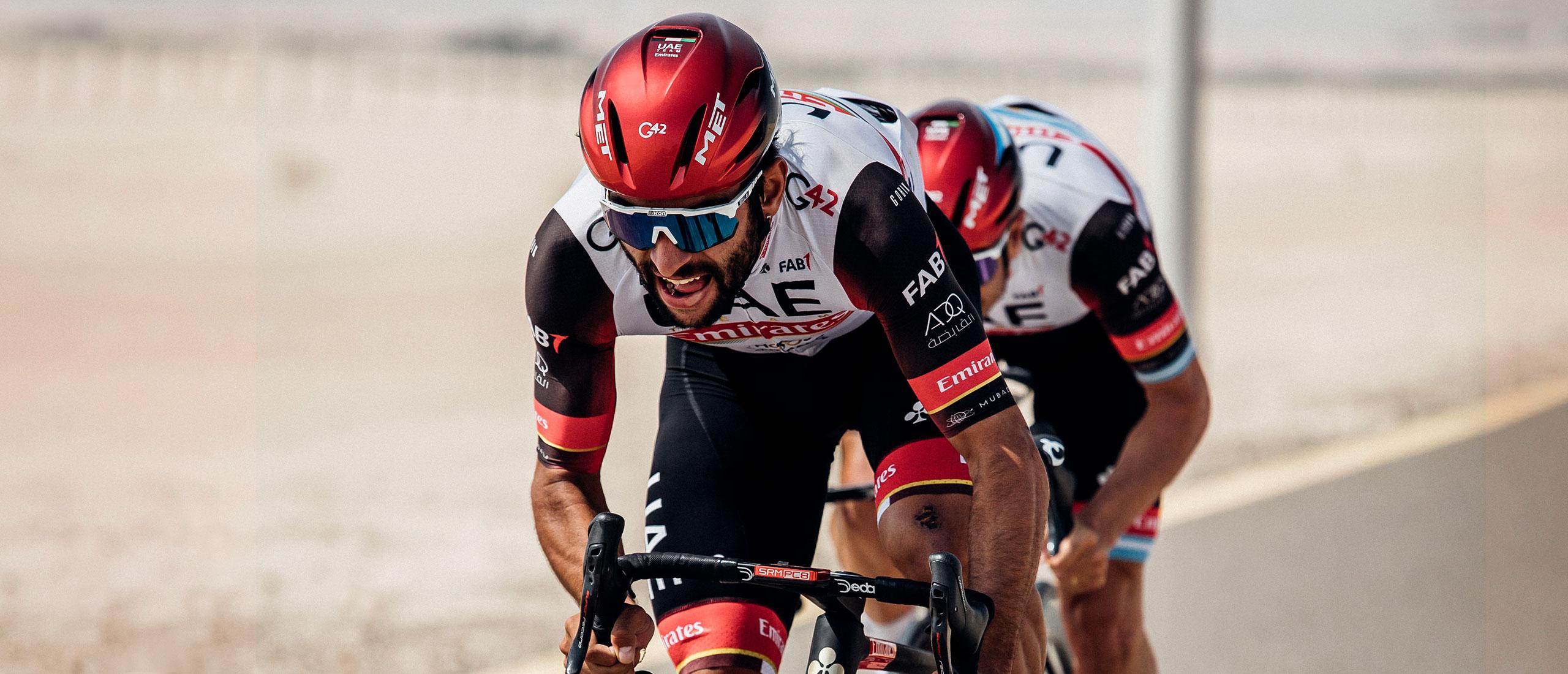 MET Manta Mips Road, Triathlon and Winter Rides Helmet: Fernando Gaviria (UAE Team Emirates)