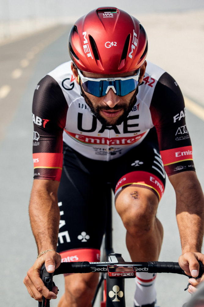 MET Manta Mips Road, Triathlon and Winter Rides Helmet: Fernando Gaviria (UAE Team Emirates)