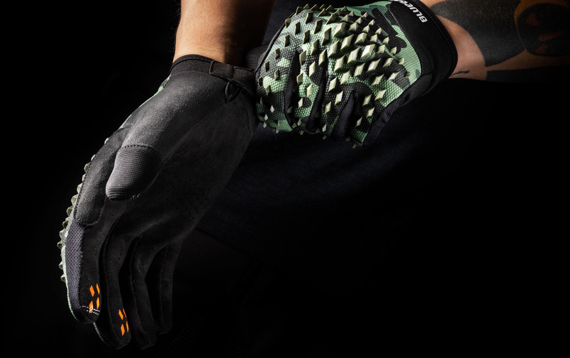 Bluegrass Prizma 3D MTB Glove for DH, Enduro, Trail, and BMX