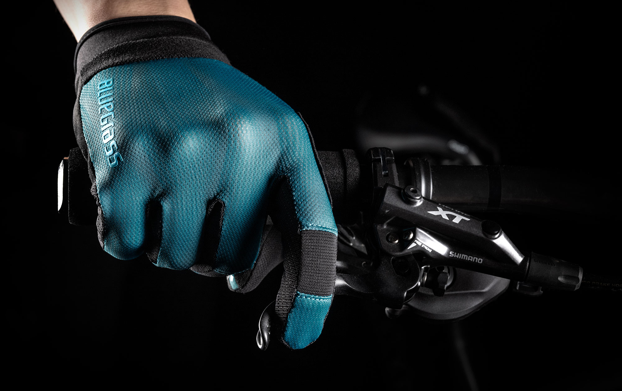 Bluegrass React MTB Glove for DH, Freeride, Trail, and E-MTB