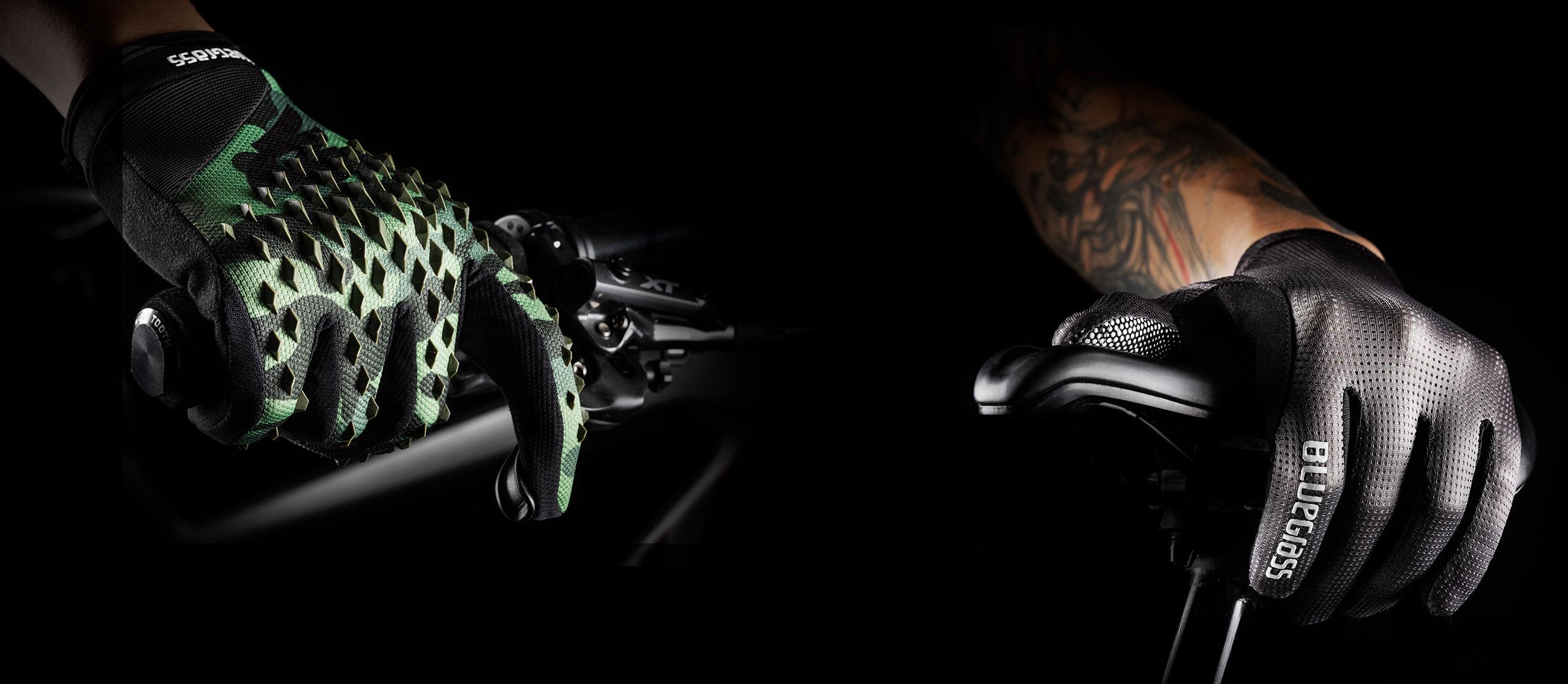 Bluegrass new range of MTB gloves: Vapor Lite, Prizma 3D, Union and React