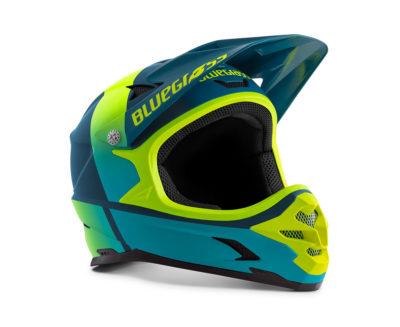 Petrol Blue Fluo Yellow | Matt