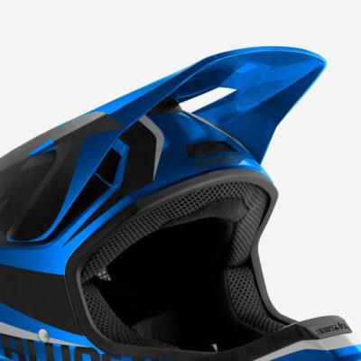 Blue Metallic Black   Glossy