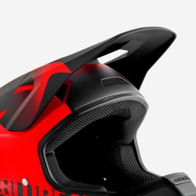 Red Black Texture   Matt