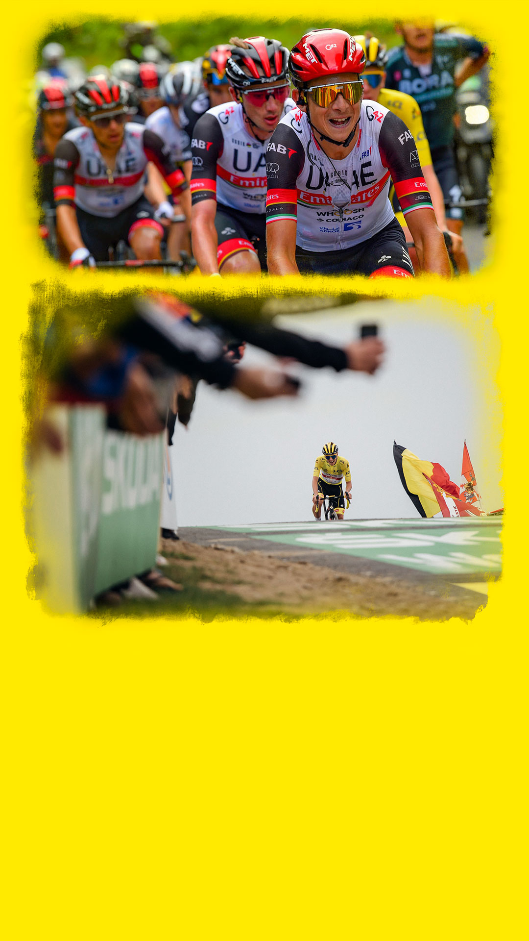 MET Helmets and Tadej Pogačar winner of the 2021 Tour de France